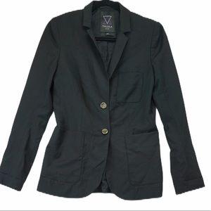 Talula Aritizia Black Wool Blazer Size 6